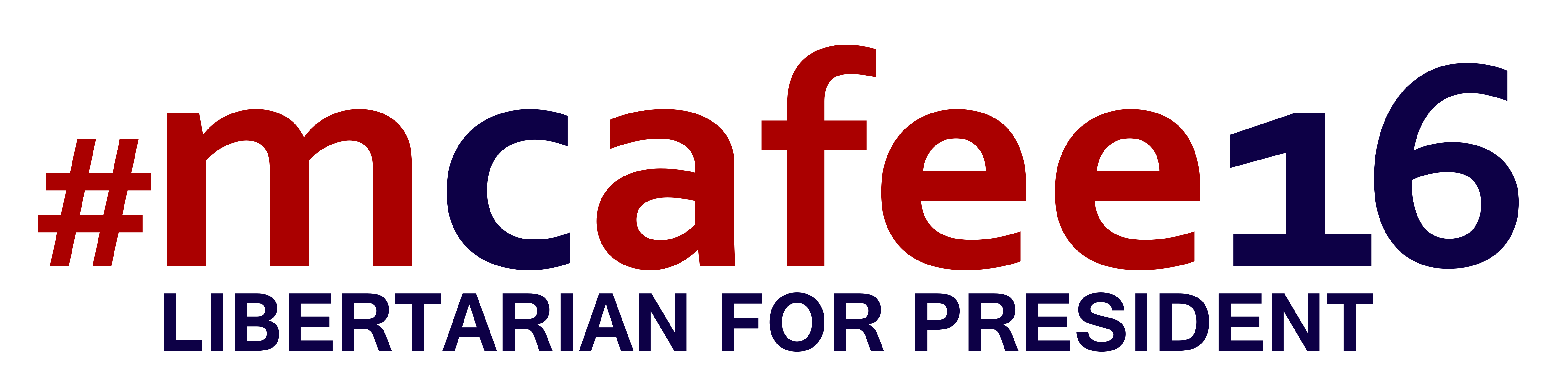 File:John McAfee Feldman presidential campaign, 2016 logo png