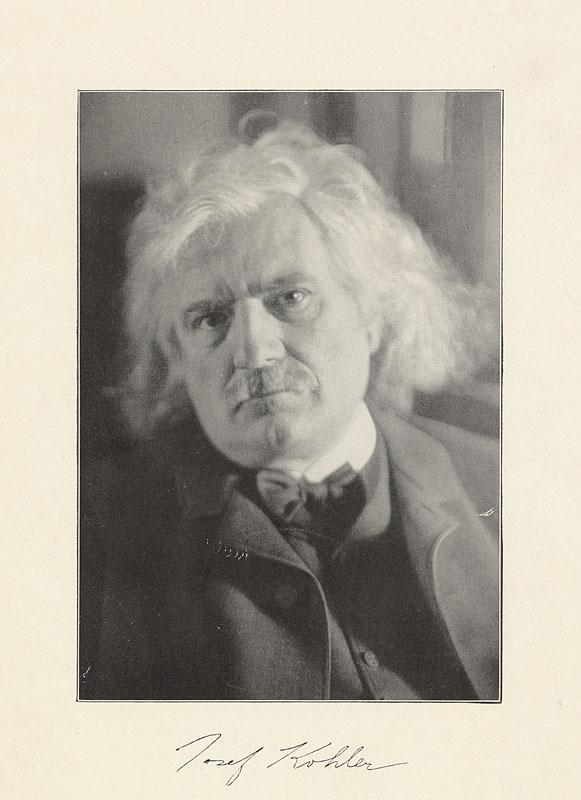 Josef Kohler.