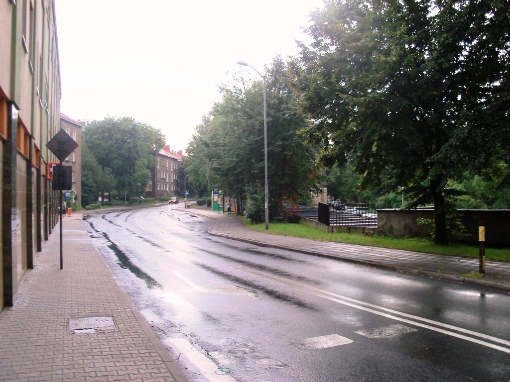 Ulica Kazimiery Iłłakowiczówny w Katowicach