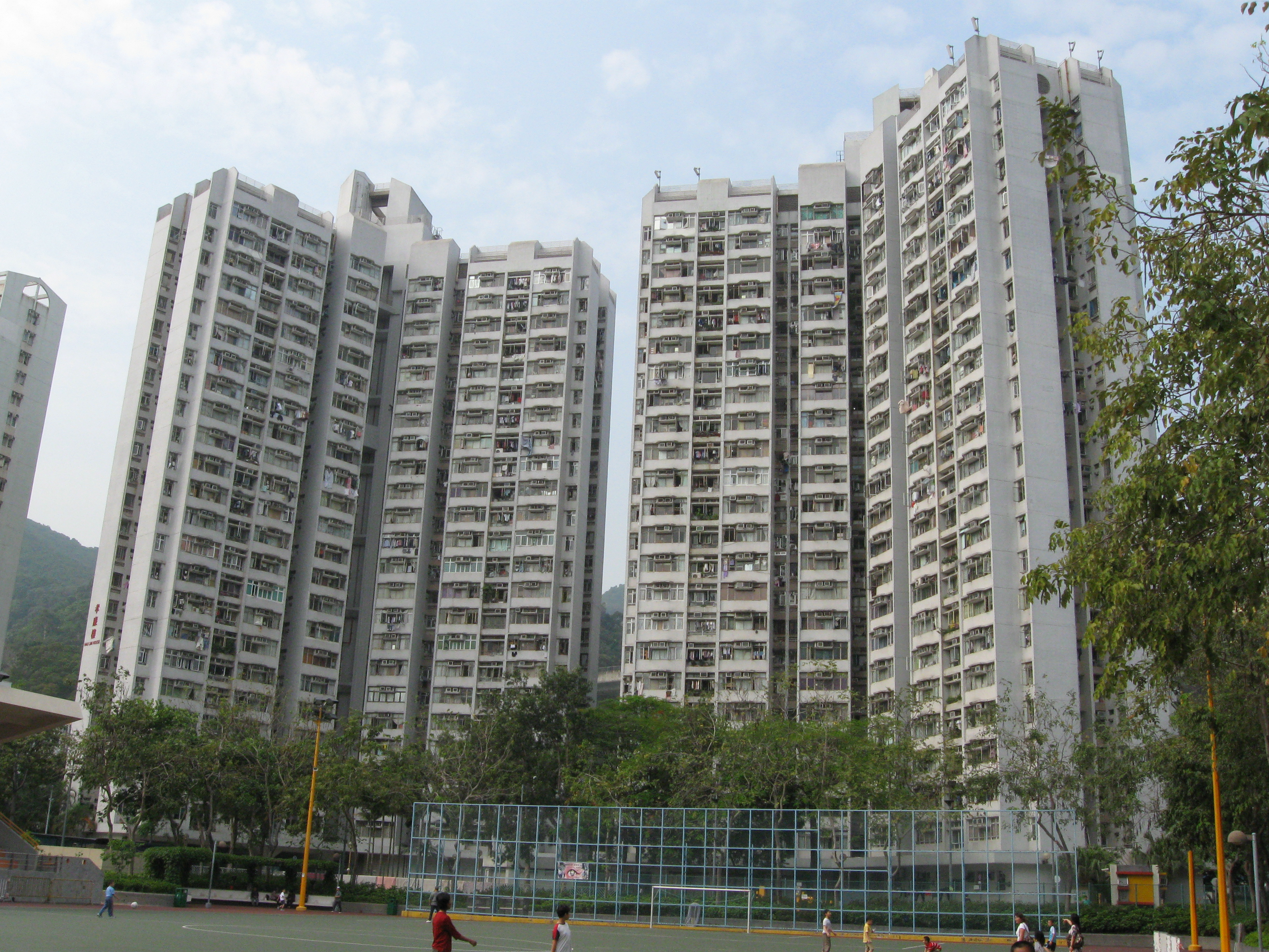 File:Lei Cheng Uk Estate-Hau Lim House and Hau Chi House.JPG ...