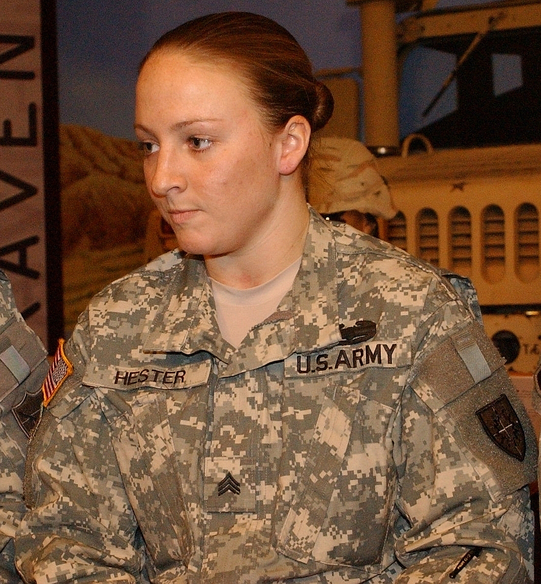 Female military pictures