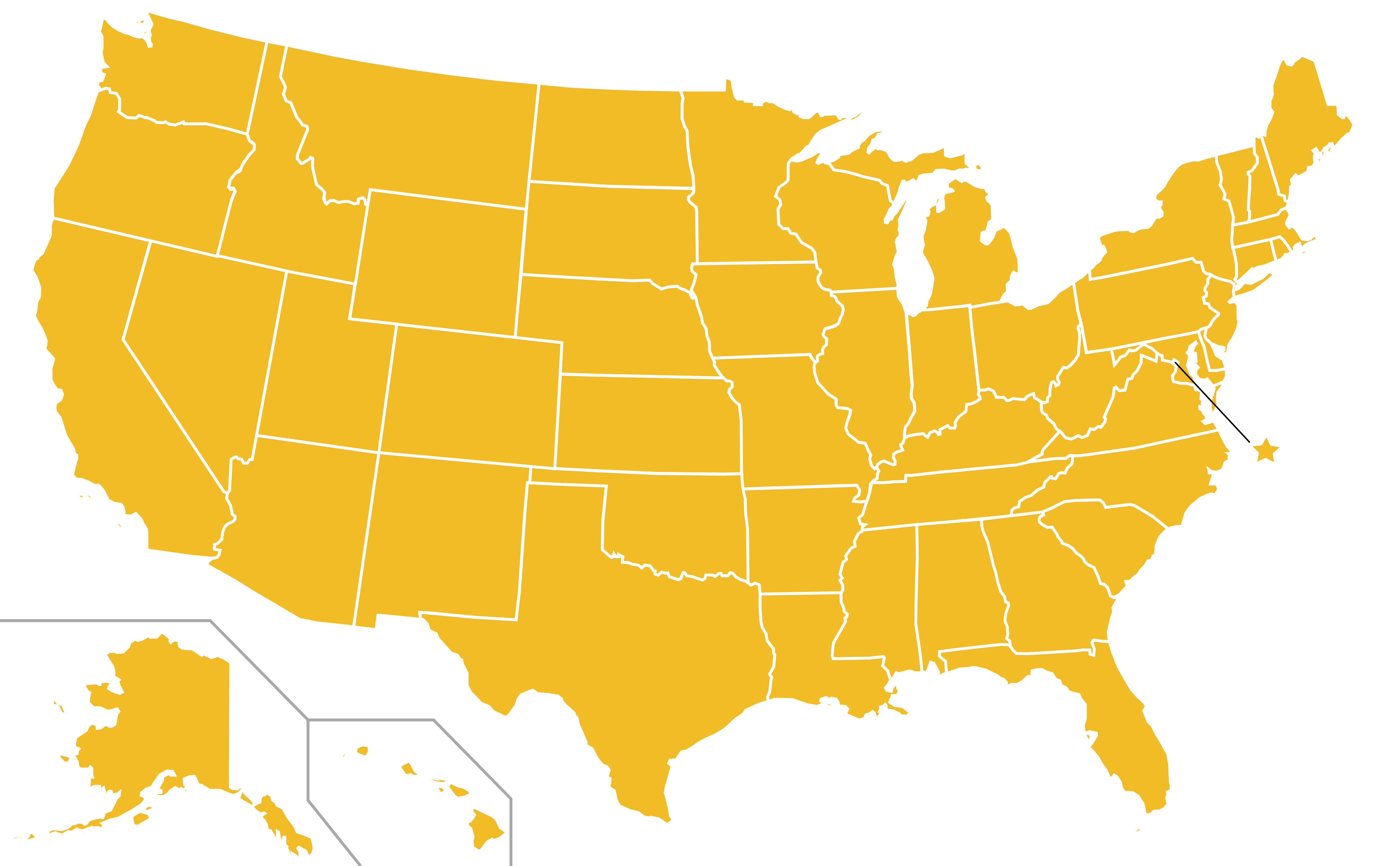 Map Of America Png.File Libertarian Party Ballot Access Locator Map 1996