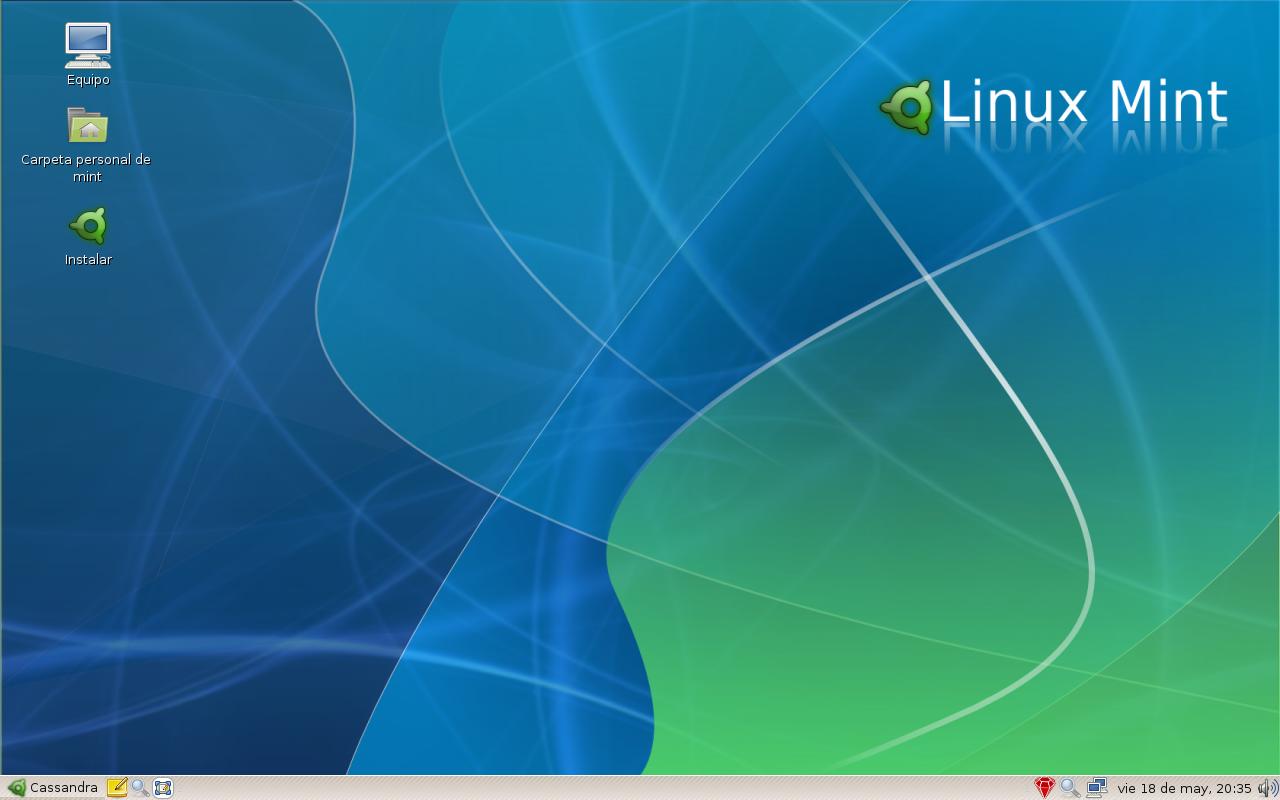 File Linux Mint Cassandra Captura1 Png Wikimedia Commons