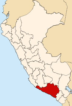 Location of Arequipa region.png