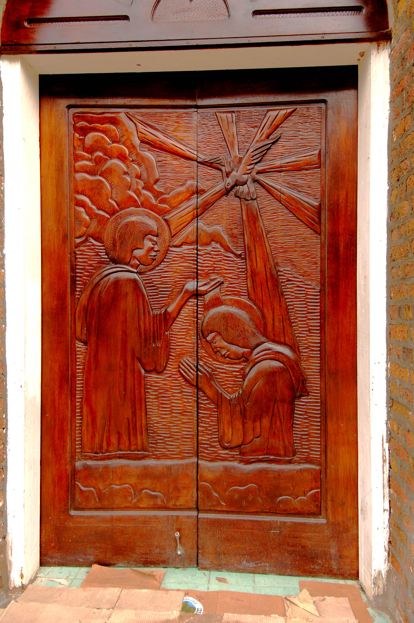 doors of st johnu0027s cathedral belizejpg