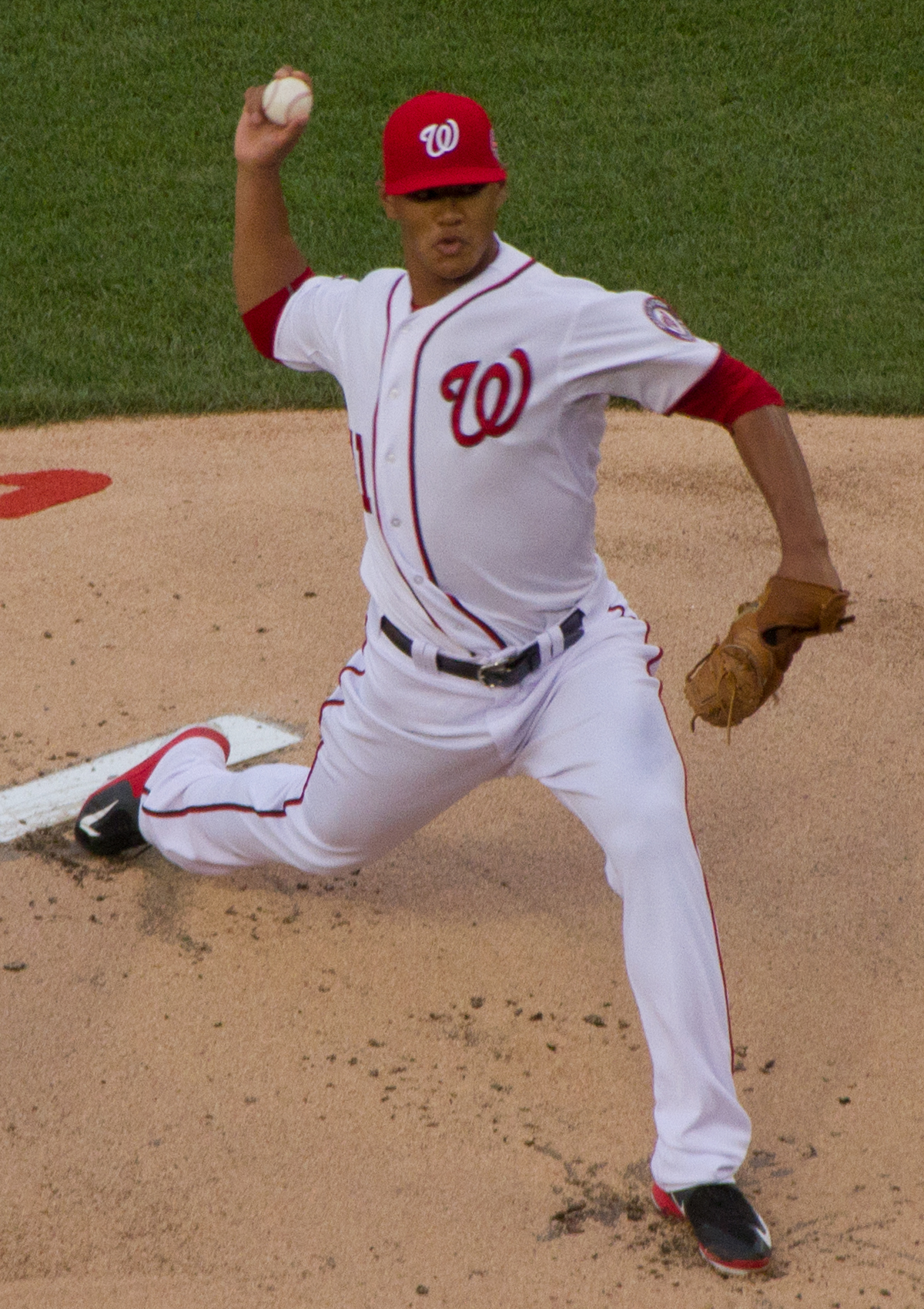 August 19, 2019 -- The Nationals's top hitter for the game was Juan Soto in the  13 to 0 againstthe Pirates on the road. The Nationals starting pitcher was Joe Ross.