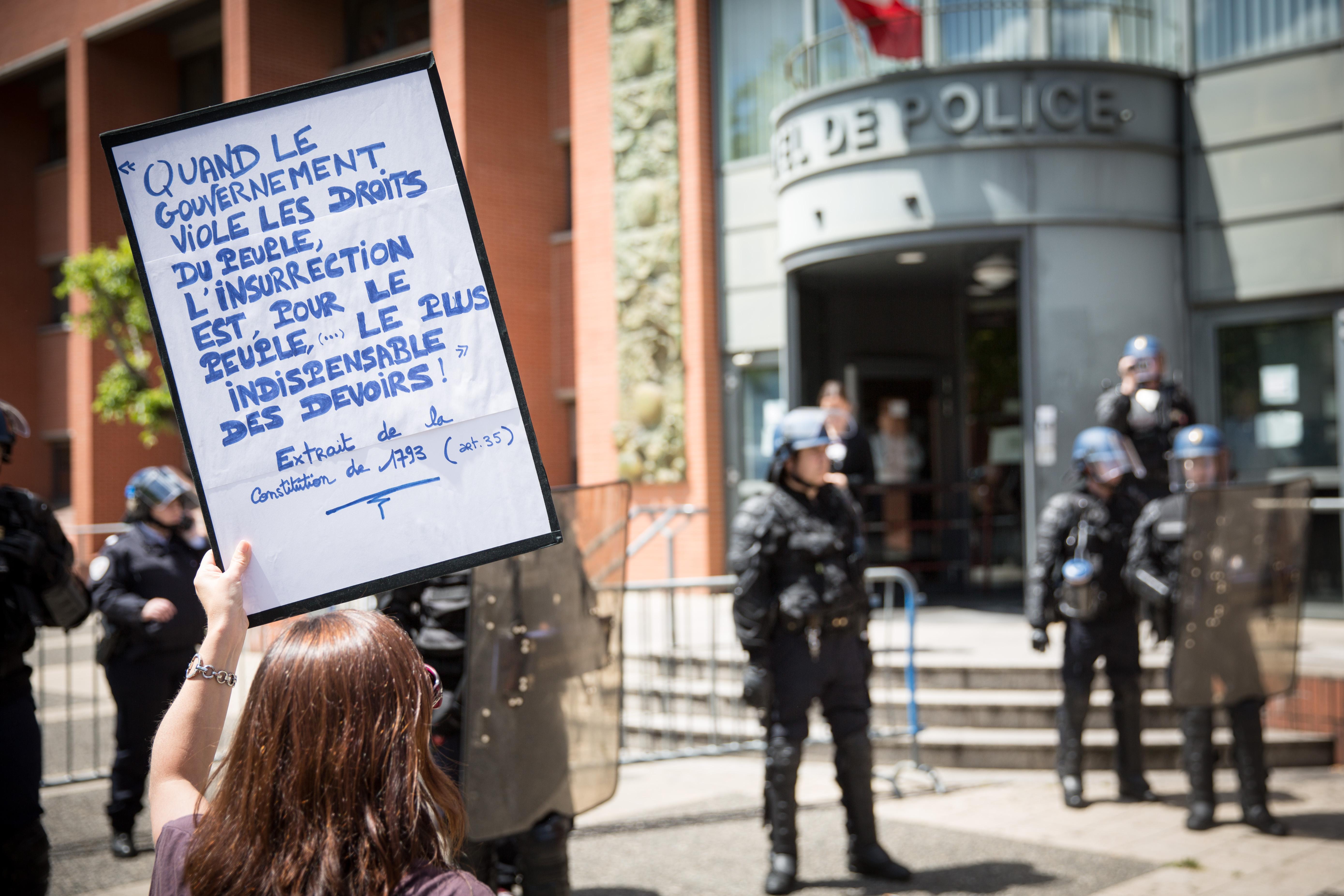 Greves Et Manifestations Anti Loi Travail En France Wikipedia