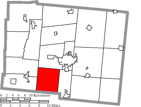 File Map Of Logan County Ohio Highlighting Union Township Png