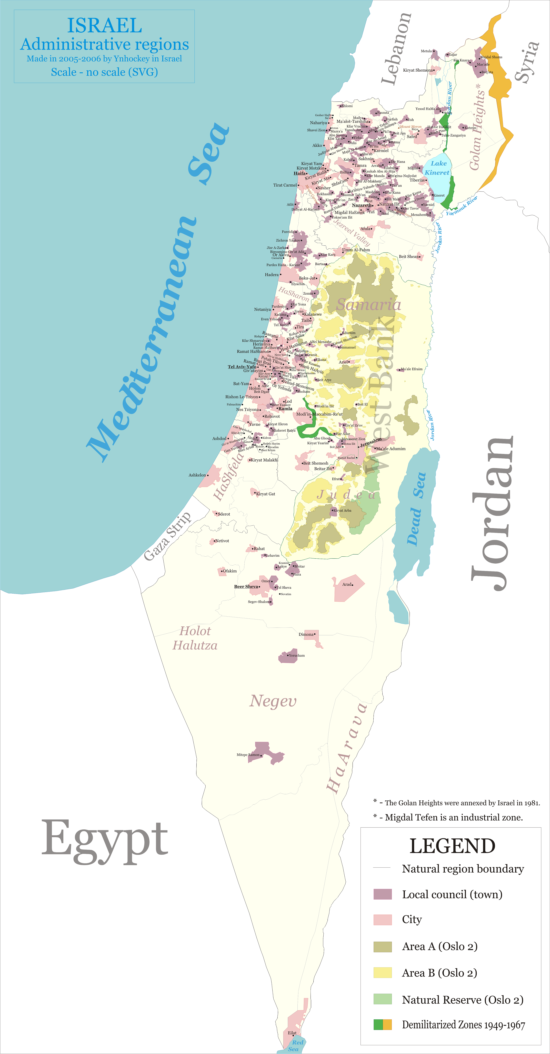 FileMap of administrative regions in Israelpng Wikimedia Commons