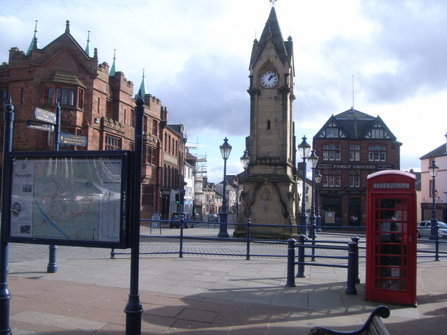 File:Market Square, Penrith.jpg
