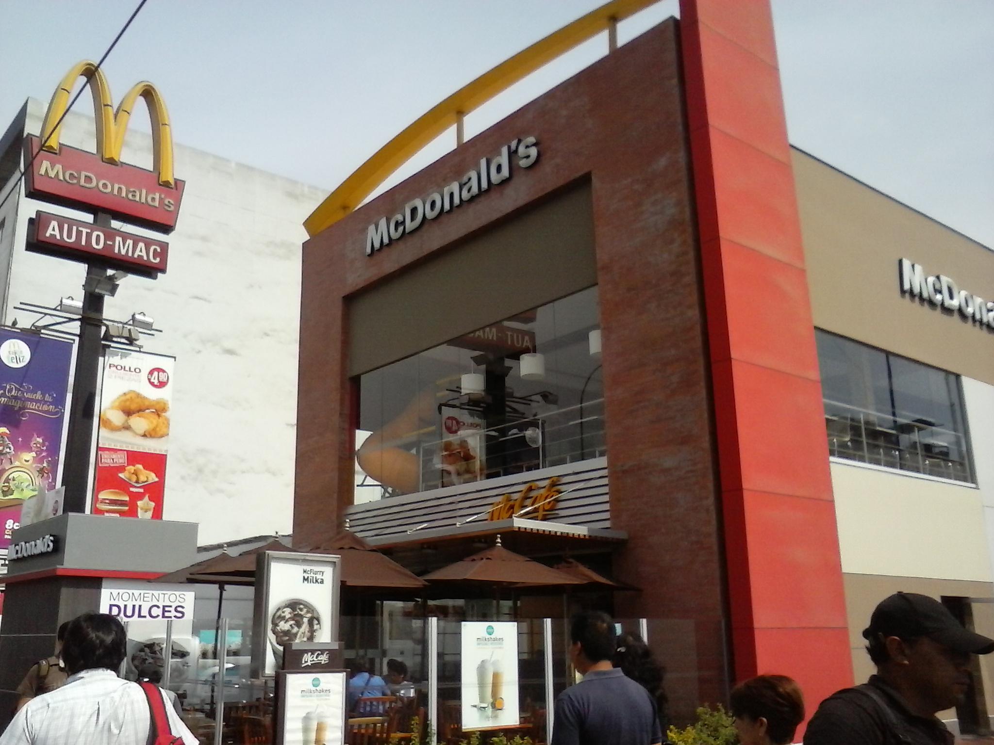 Risultati immagini per McDonald'senPerú
