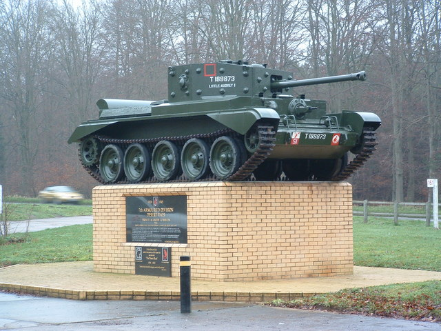 File:Memorial To 7th Armoured Division Desert Rats - geograph.org.uk - 299386.jpg