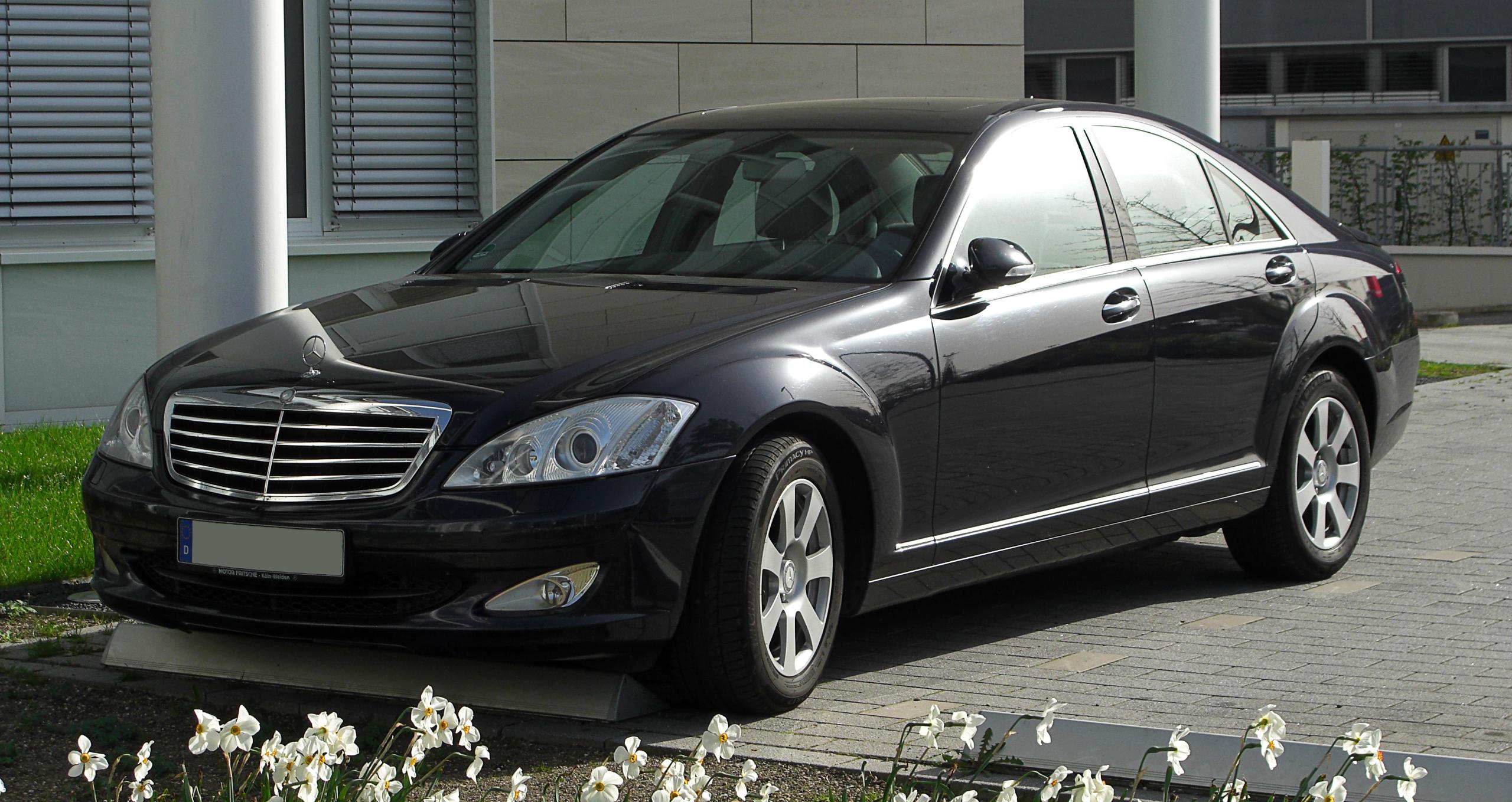 File:Mercedes-Benz S-Klasse (W 221) – Frontansicht, 10. April 2011 ...