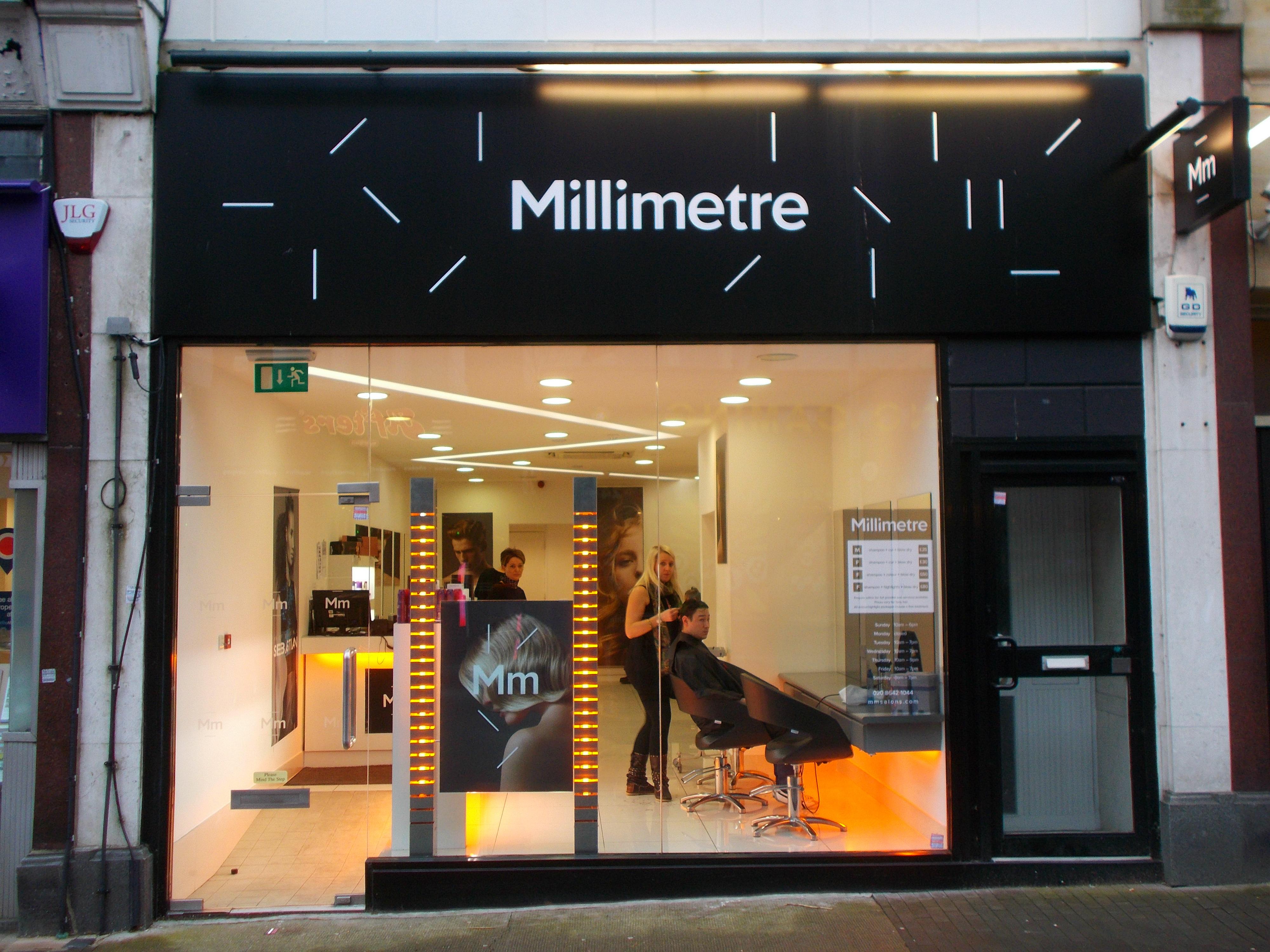 File Millimetre Hairdressers Sutton Surrey Greater London Jpg