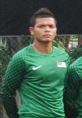 Zamir Selamat Footballer
