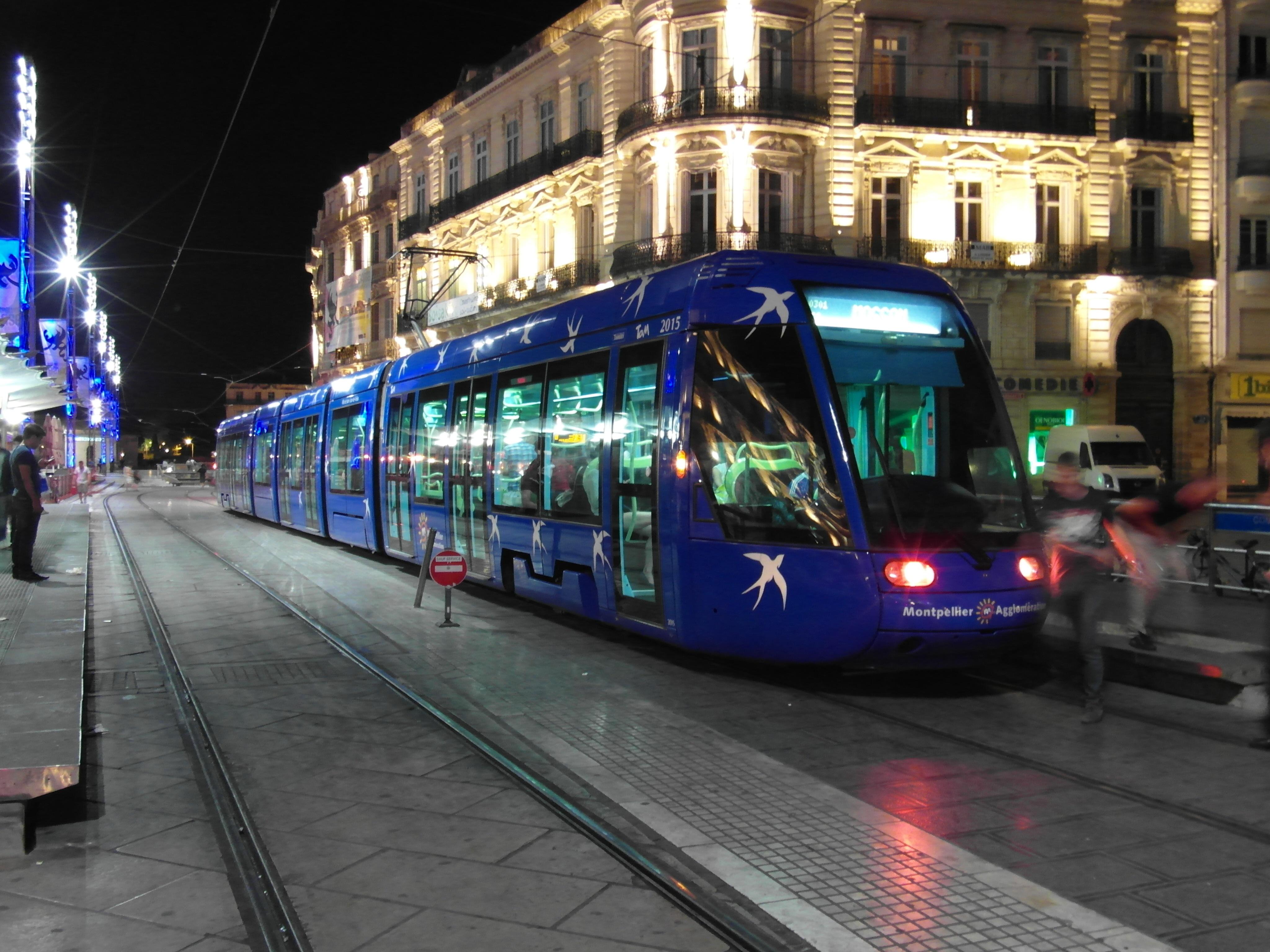 Montpellier Tram Line File:montpellier Tram 1