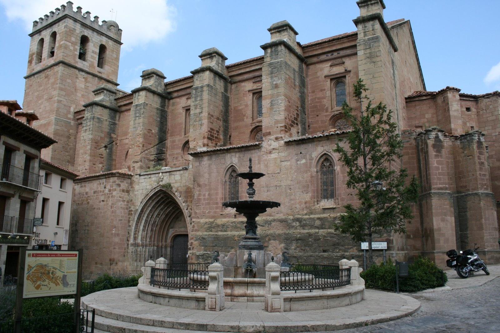 Colegiata de Santa María. Guía de viaje de Teruel y Rubielos de Mora. Tu Maleta.