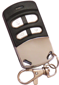 Photo Of A Multi Frequency Universal Remote Control Duplicator That Works  From 286 MHz To