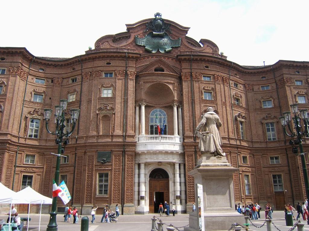 Palais Carignan : Musée de la Réunification italienne à Turin.