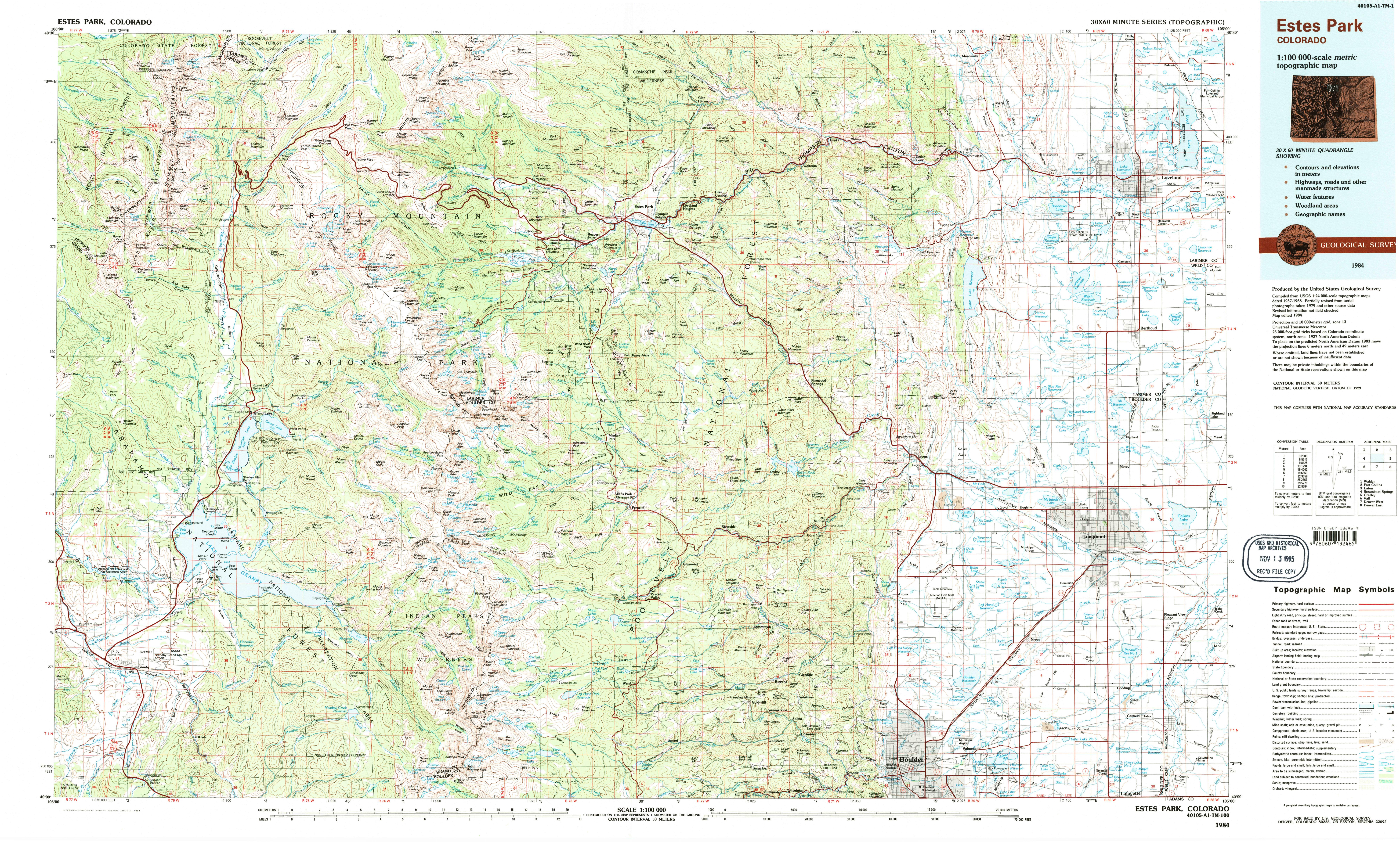 FileNPS Rockymountaintopomapjpg Wikimedia Commons - Colorado topo maps