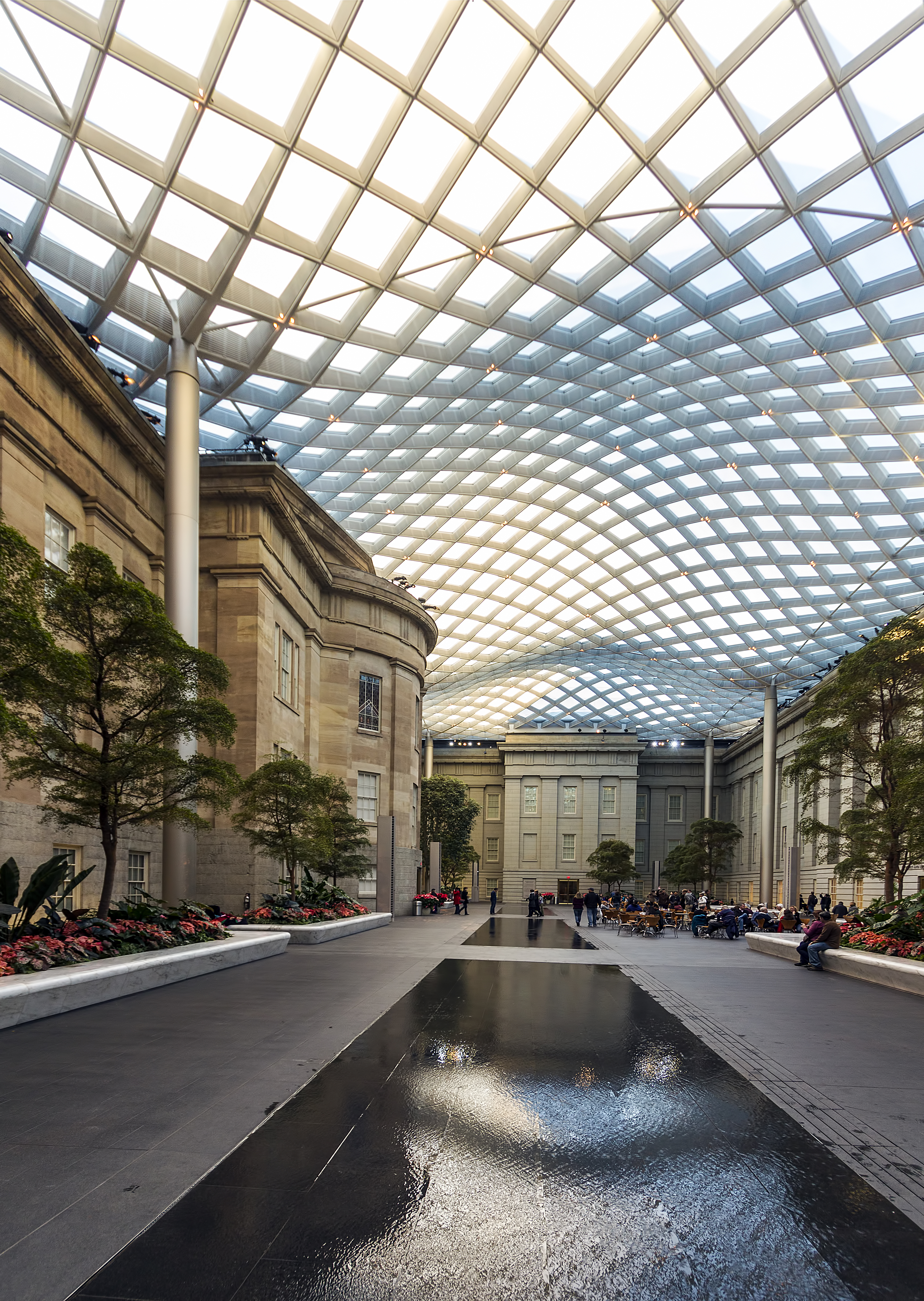 File National Portrait Gallery Courtyard Dc1 Jpg