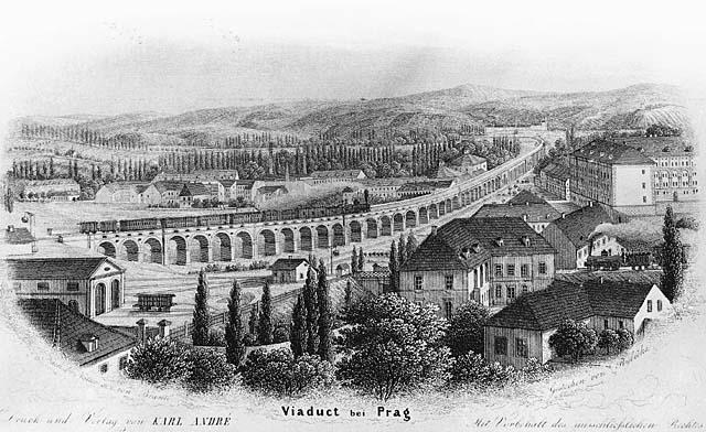 Unikátní Negrelliho viadukt slaví 170 let