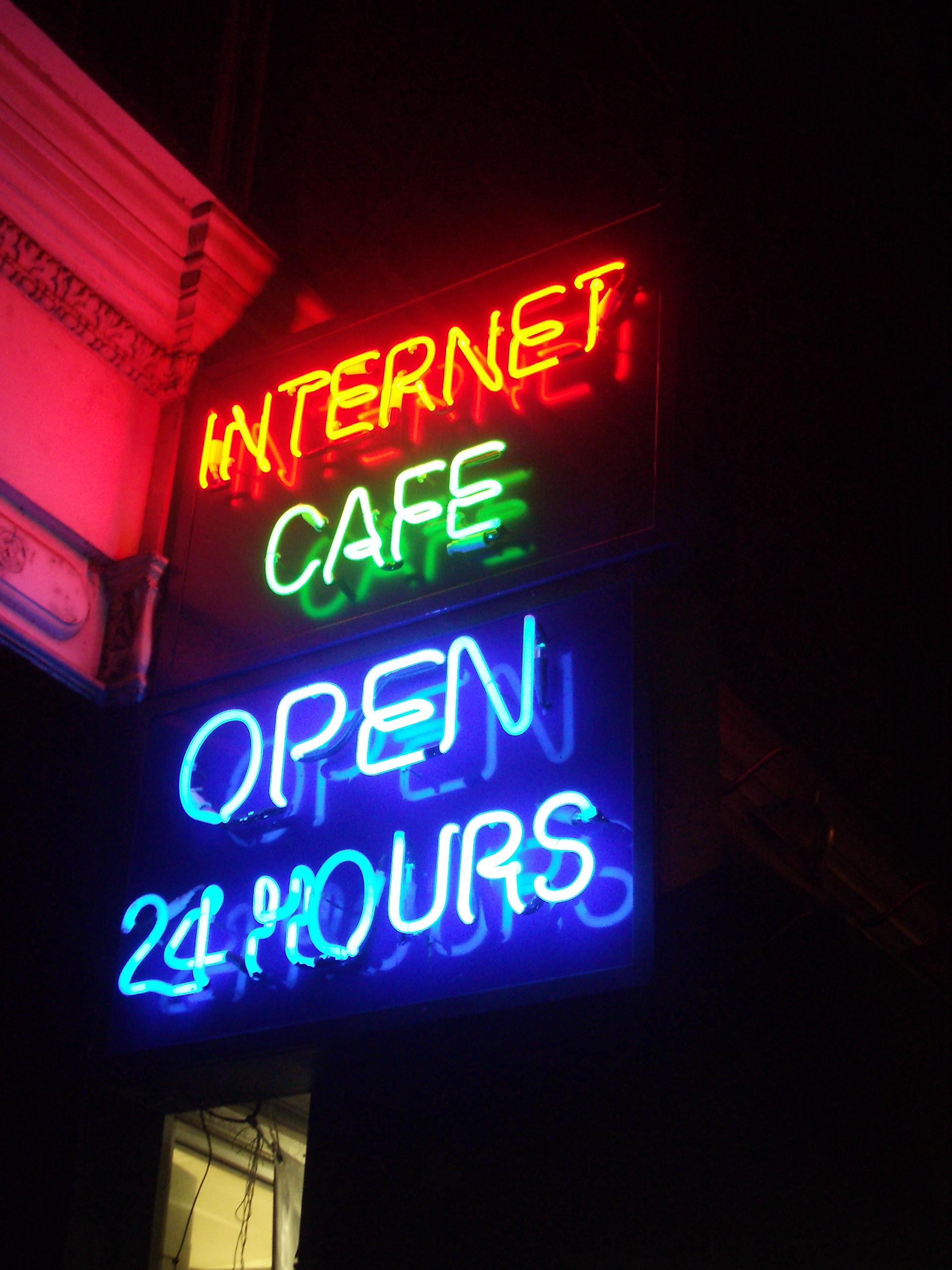 File:Neon Internet Cafe open 24 hours.jpg - Wikimedia Commons