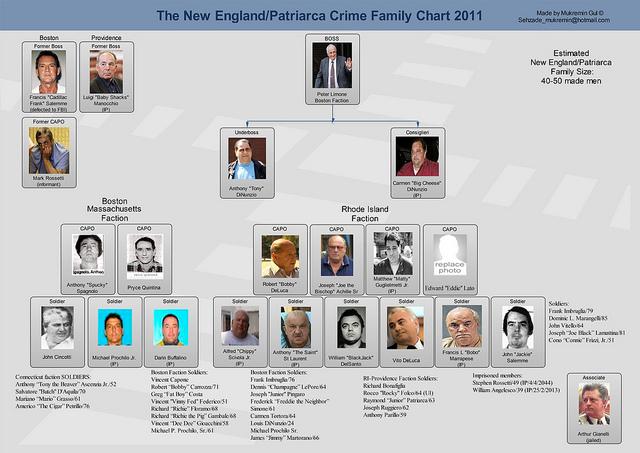 crime family chart
