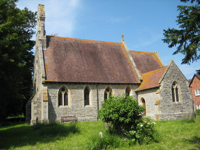 Photo of St Michael and All Angels parish church, North Piddle, Worcestershire
