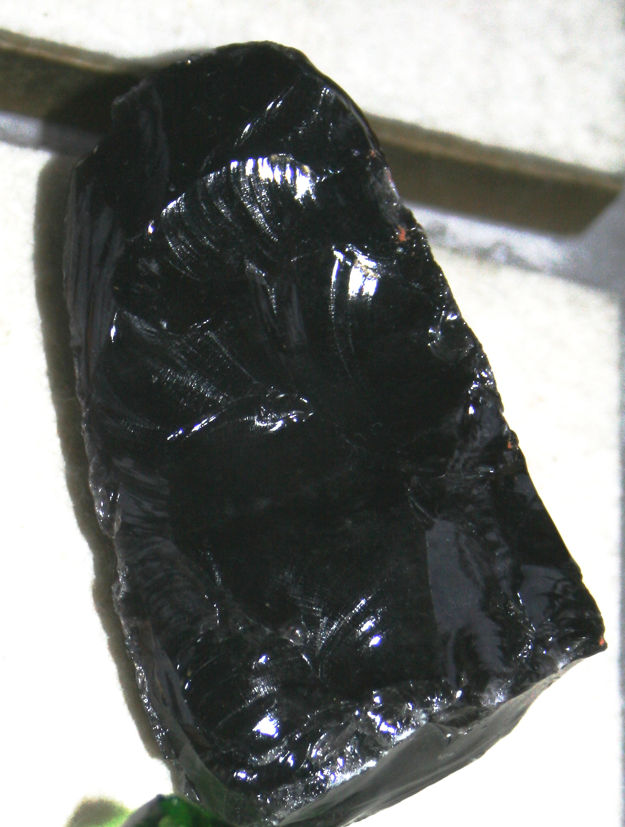 Shiny Black Rock http://www.steampunkfamily.com/2010/08/axe-and-fire/