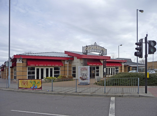 File:Old Orleans restaurant, Southbury Road, Enfield - geograph.org.uk ...