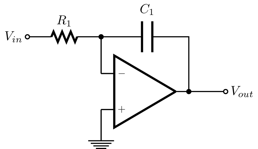 integrating amplifier