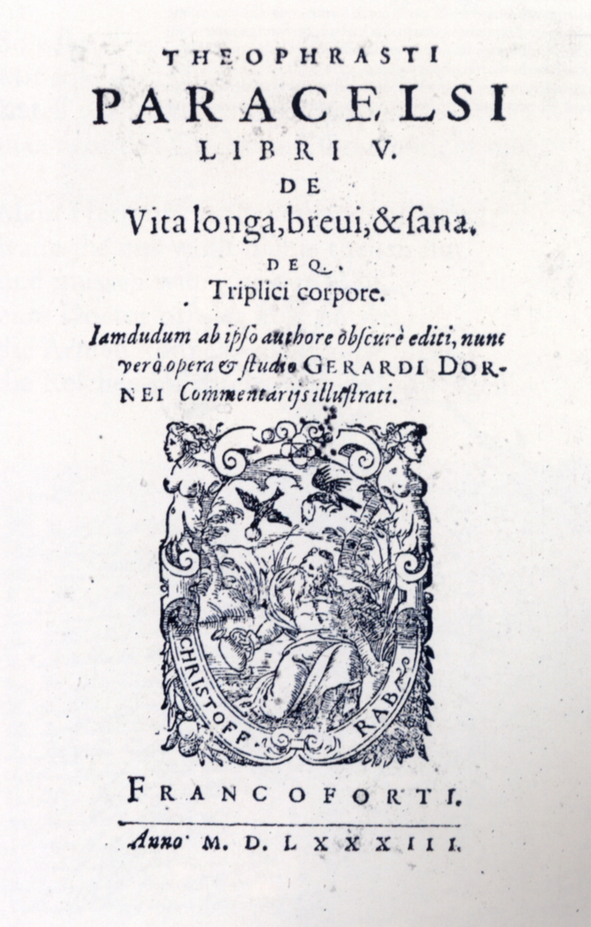 File Paracelsus De Vita Longa Frankfurt 1583 Isny Wikimedia