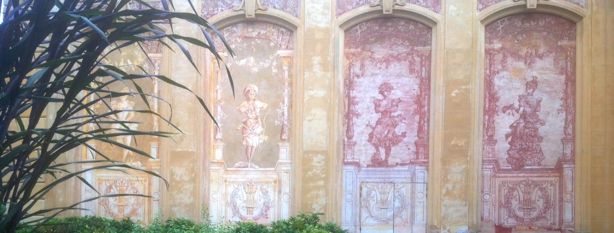 File peintures murales de emile ledoux la facade nord du for Les differents types de peintures murales