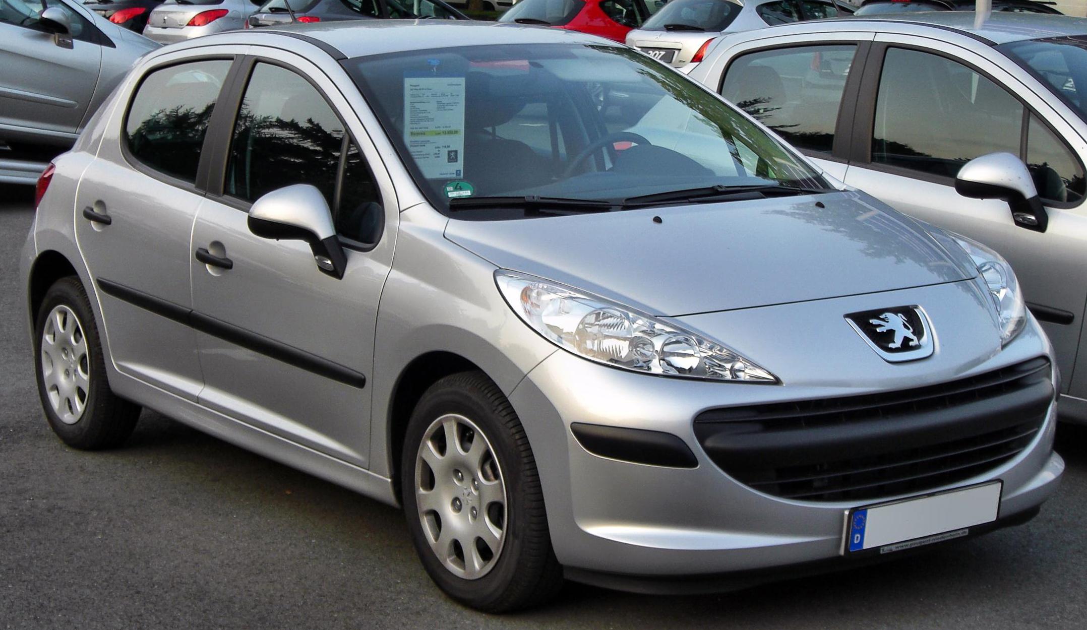 File:Peugeot 207 5-Türer front.JPG - Wikimedia Commons