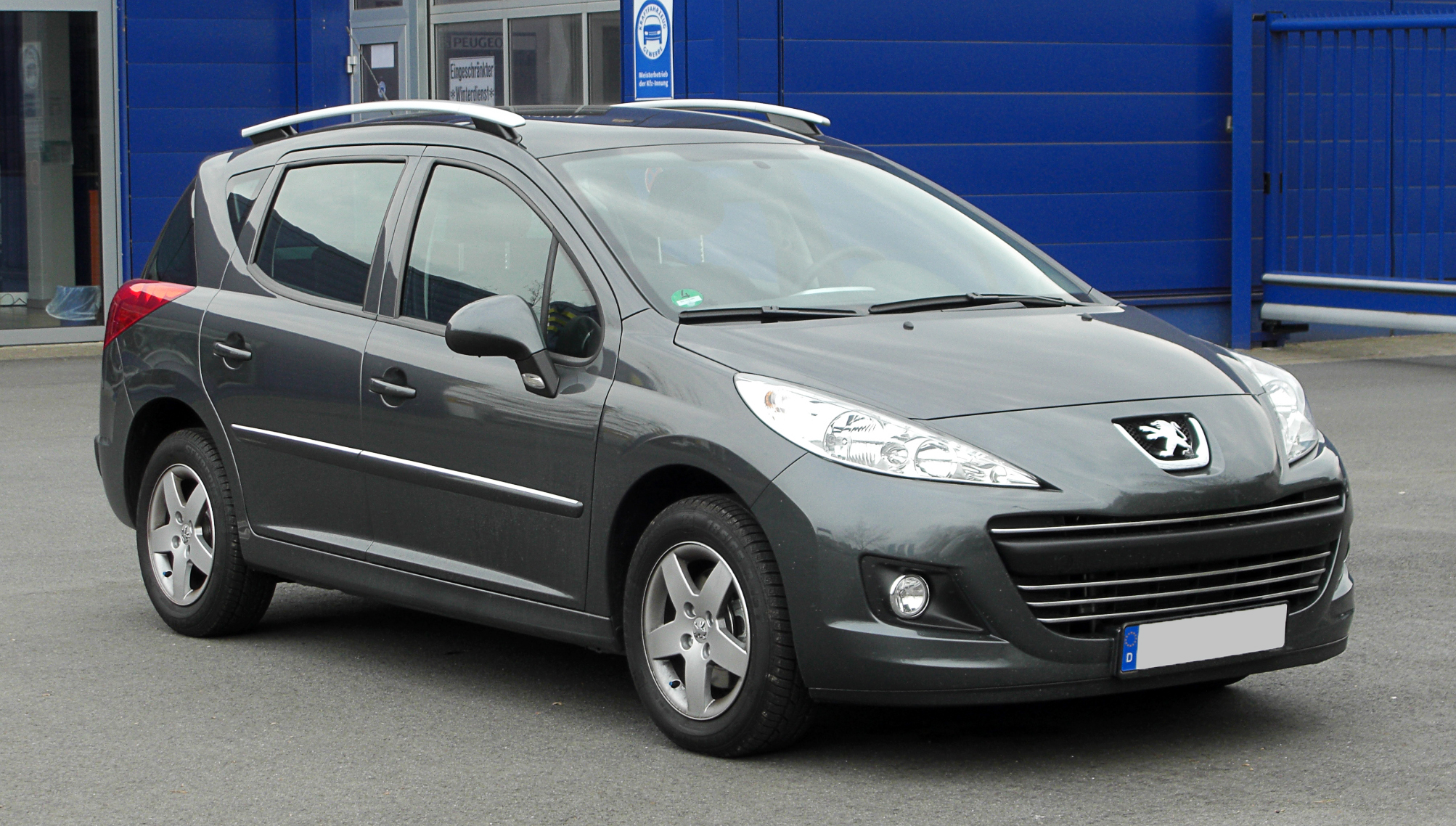file peugeot 207 sw facelift frontansicht 26 m rz. Black Bedroom Furniture Sets. Home Design Ideas