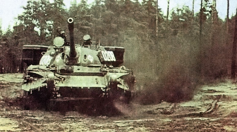 Polish_T-55A-based_engineering_tank_with