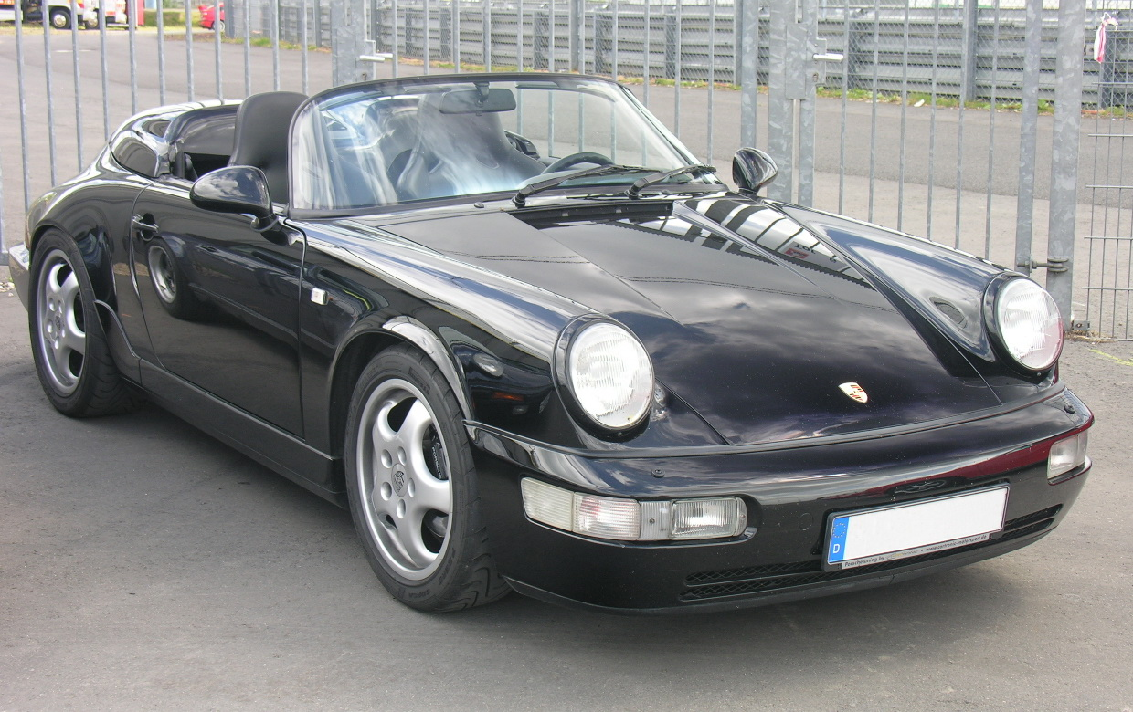 File Porsche 964 Speedster Jpg Wikimedia Commons