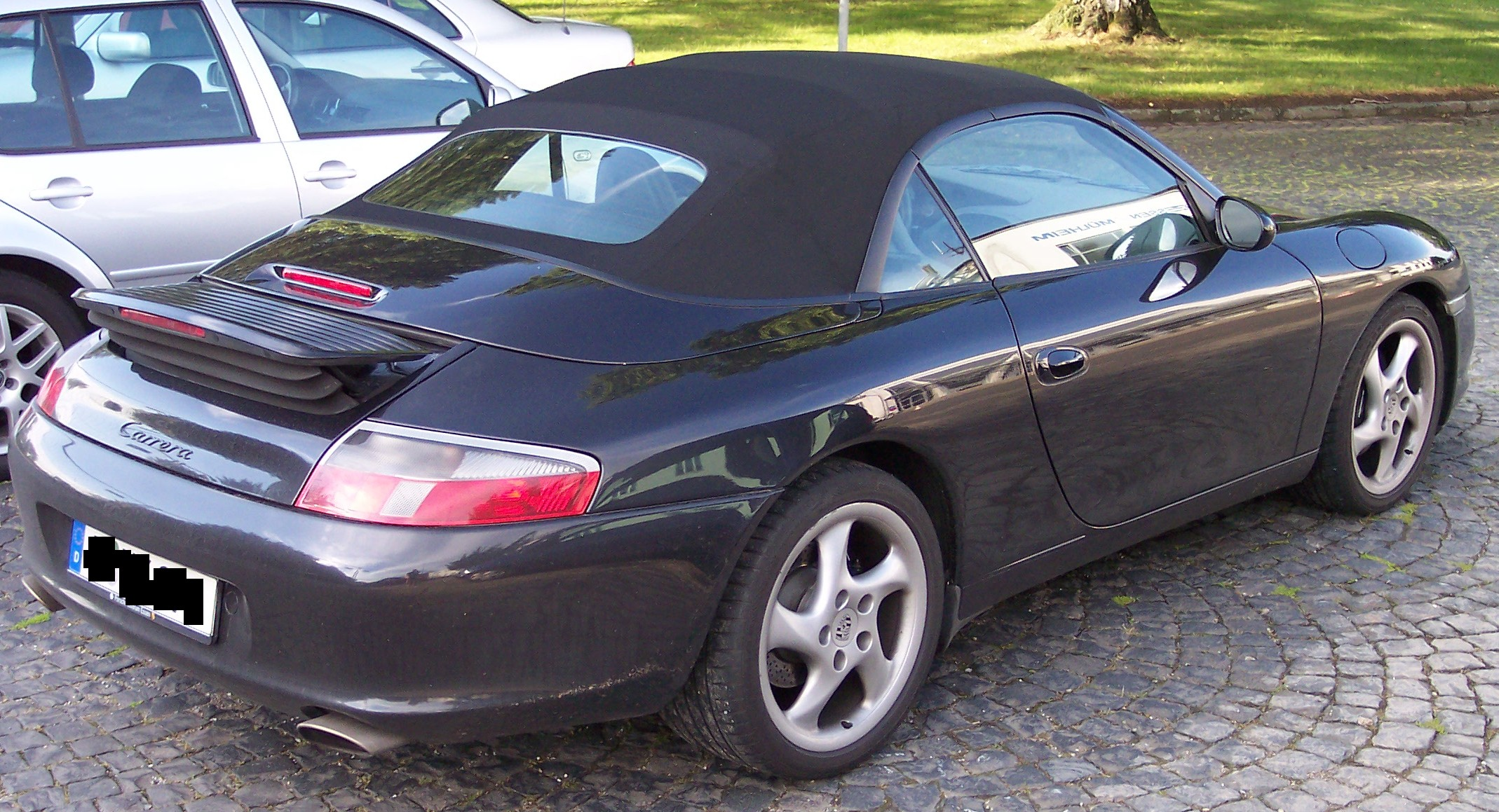 file porsche 996 cabrio wikimedia commons. Black Bedroom Furniture Sets. Home Design Ideas