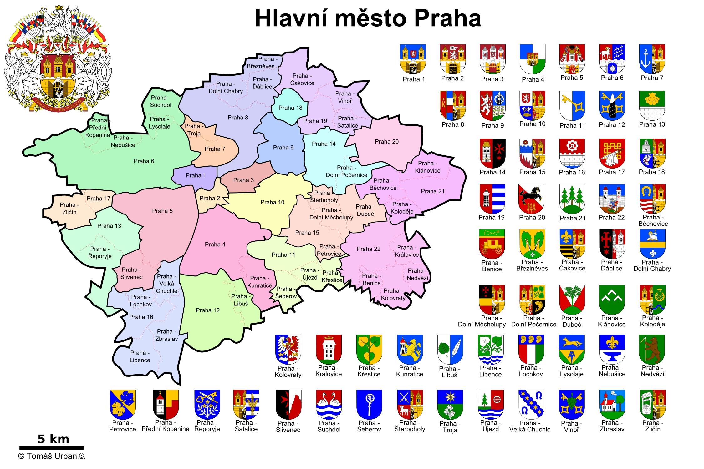 Praha Mapa