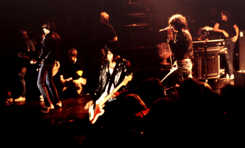 Picture of a band or musician: The Ramones
