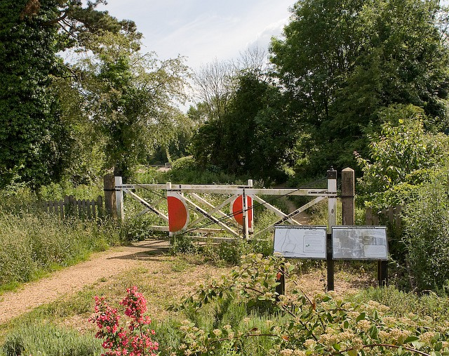 Remains of Bishop's Waltham to Botley branch railway line - geograph.org.uk - 842720