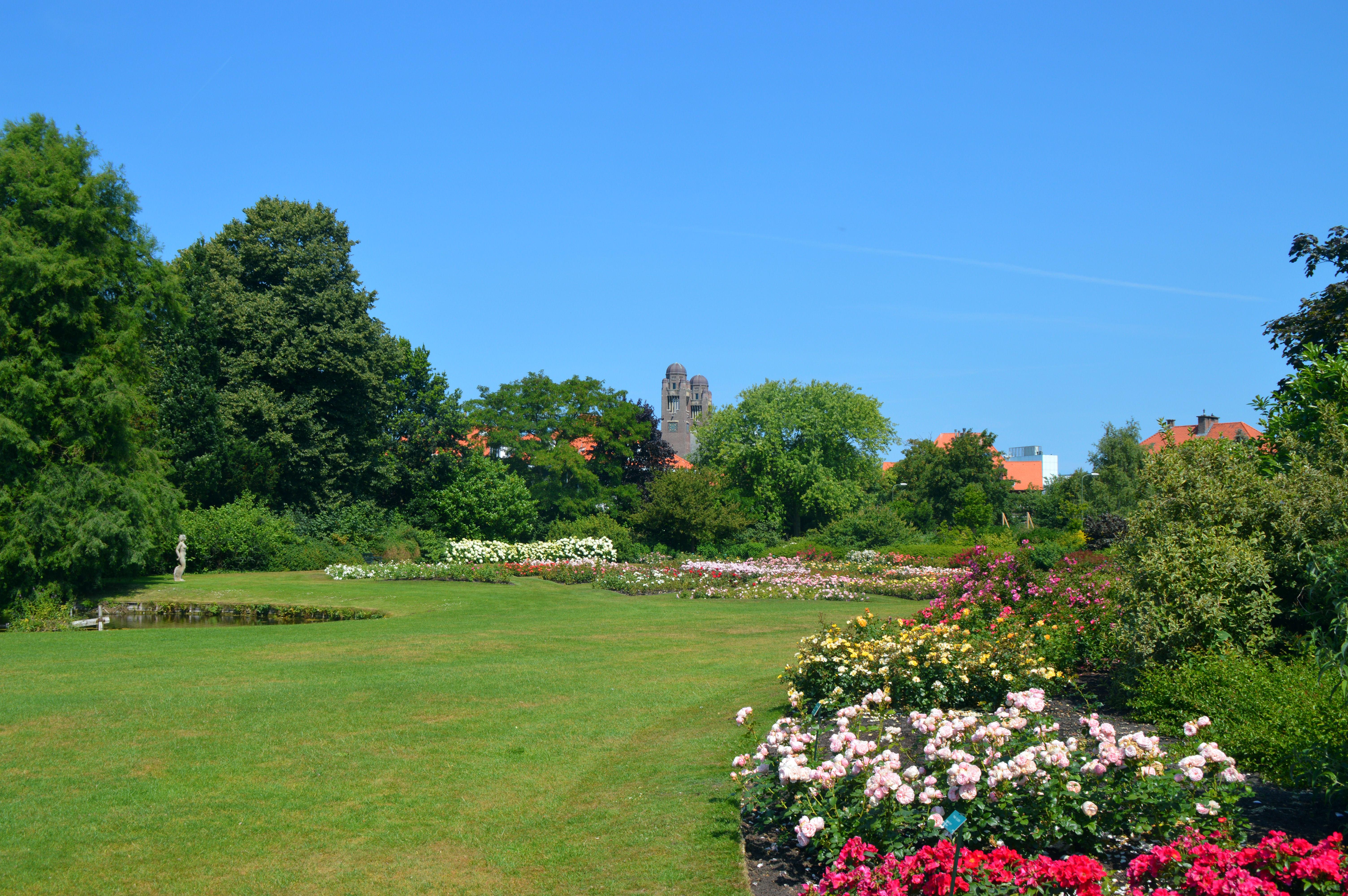 Bedden Den Haag.Bestand Rozenbedden In Het Rosarium Van Het Westbroekpark