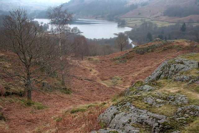 Rydal Water From White Moss Common - geograph.org.uk - 1175518