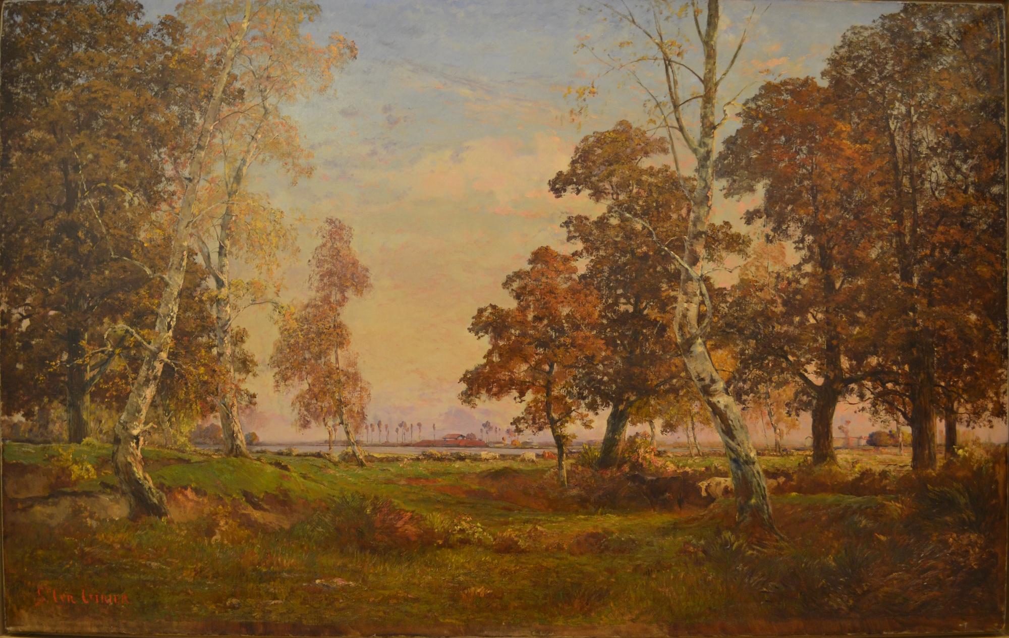 Paysage 2000 en ce qui concerne file:saint-cyr girier, paysage de la dombes à l'automne