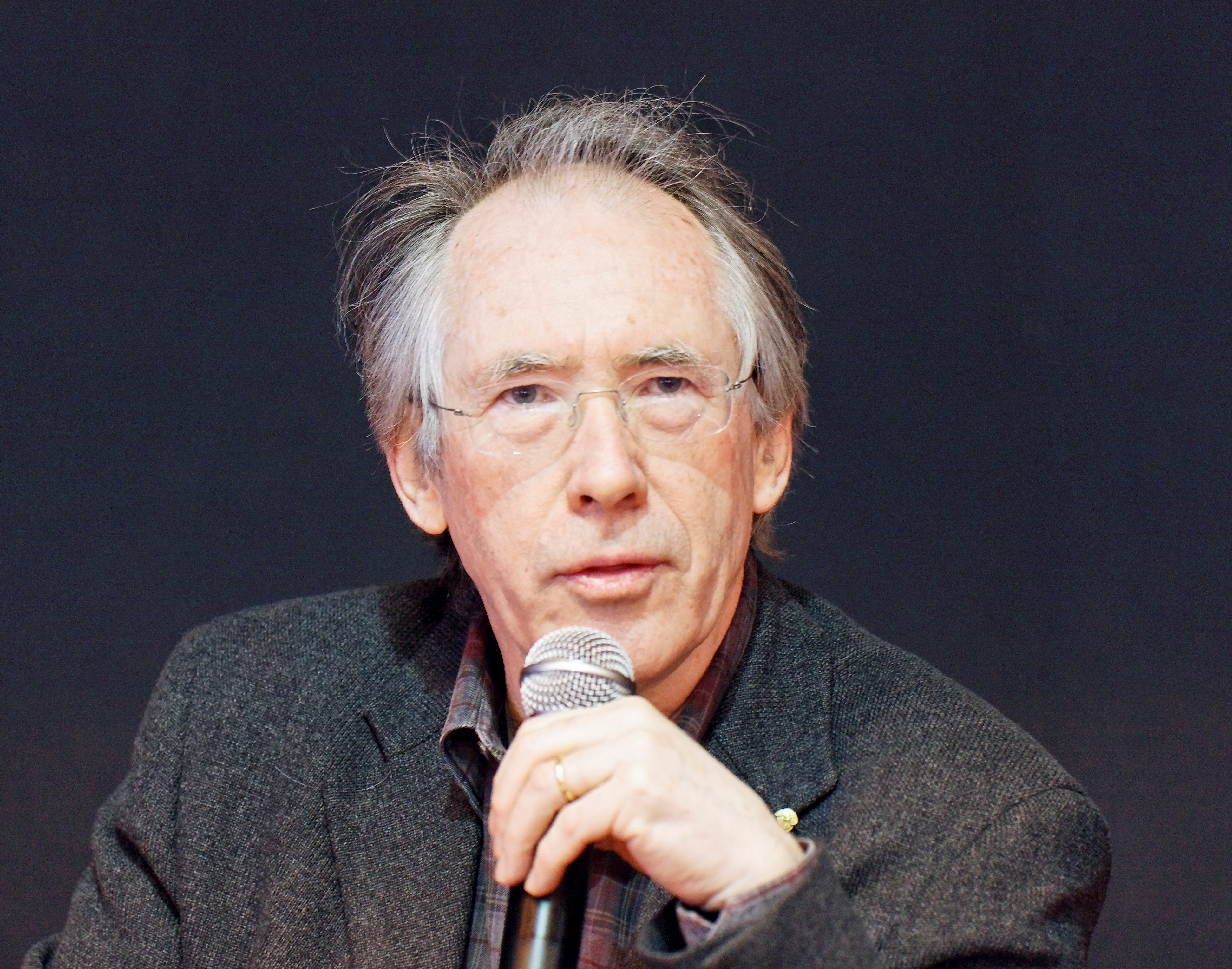 Ian McEwan in Paris, 2011