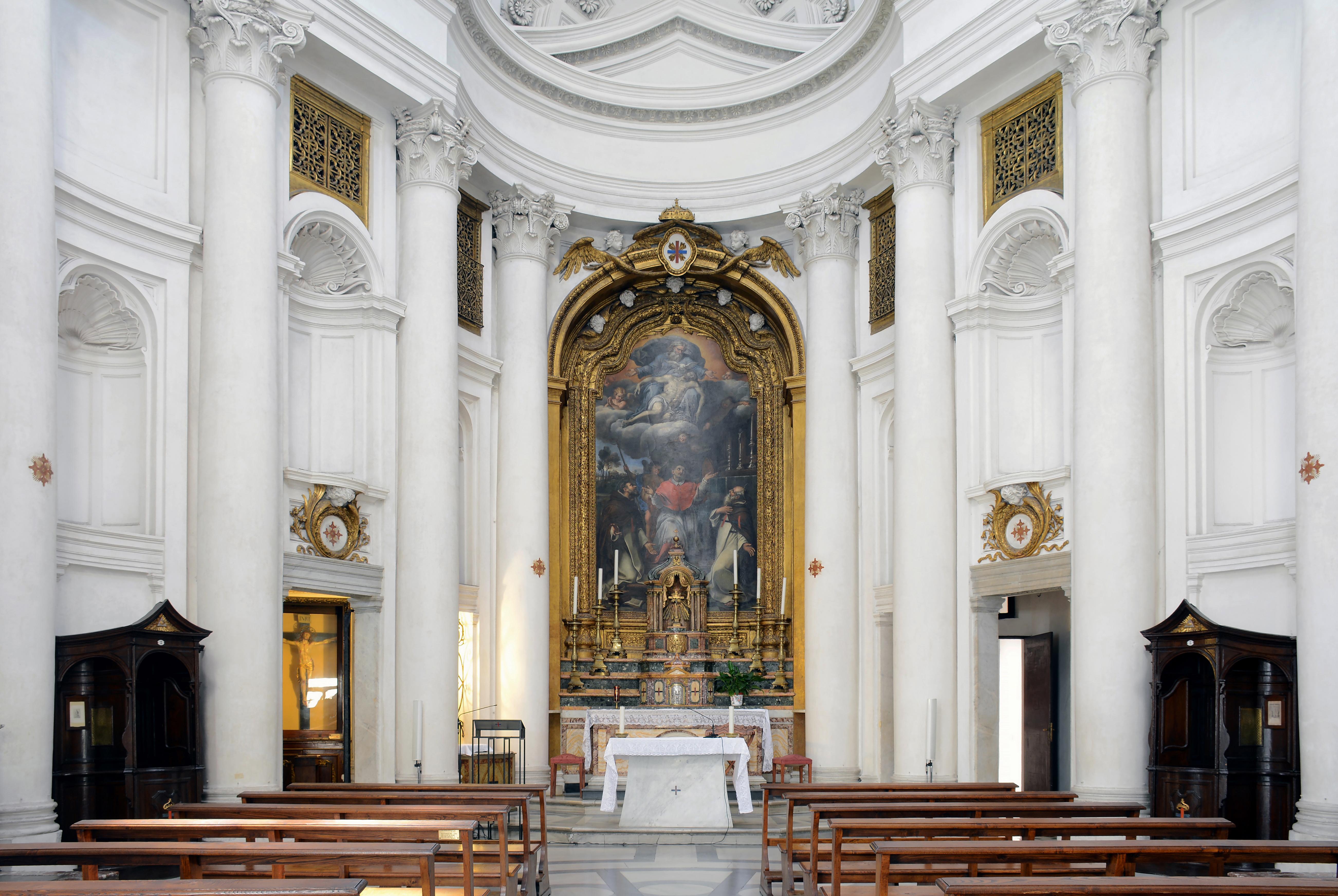 File San Carlo Alle Quattro Fontane Rome Intern Jpg Wikipedia