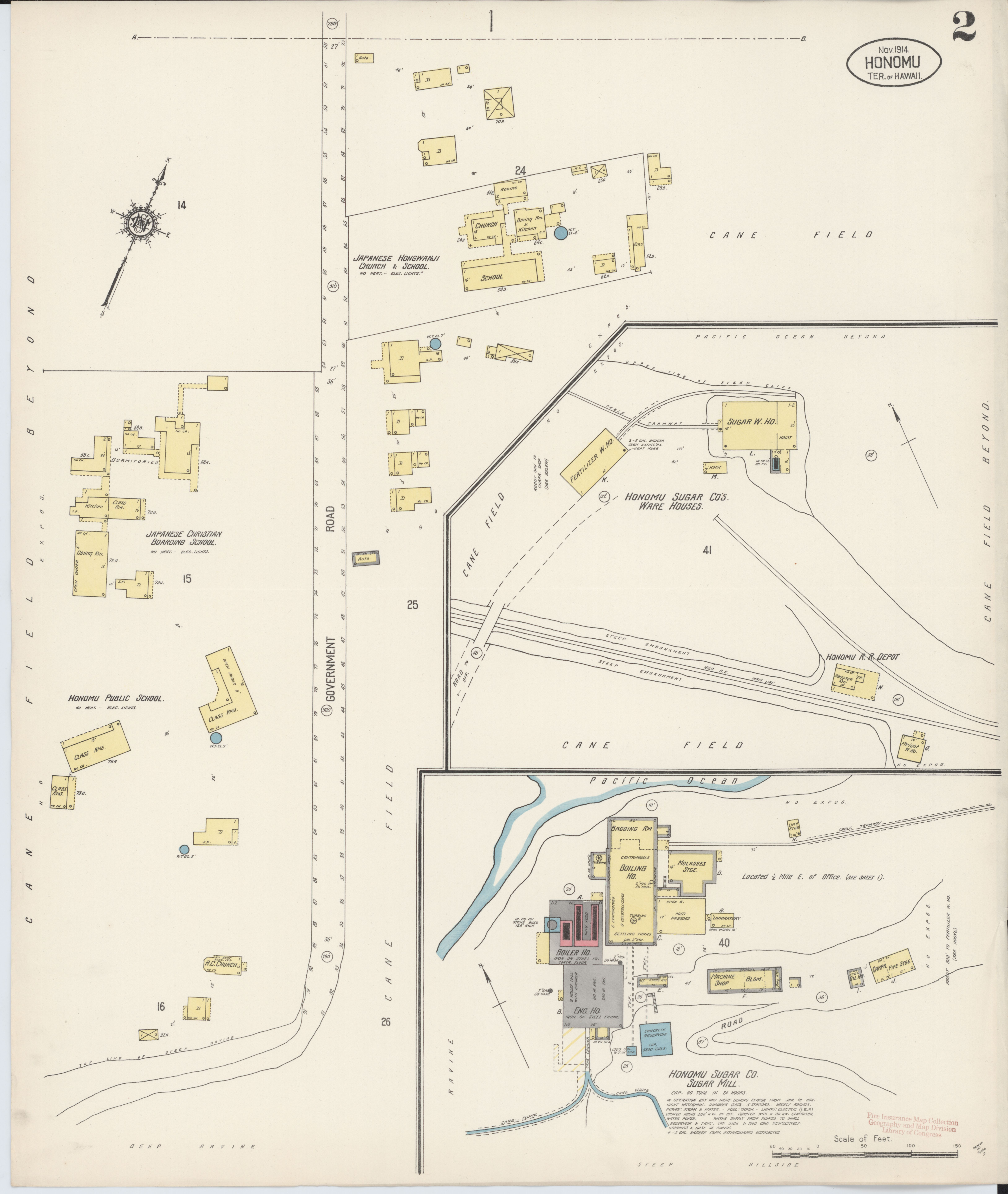 County Line 2 Fire Map.File Sanborn Fire Insurance Map From Honomu Hawaii County Hawaii