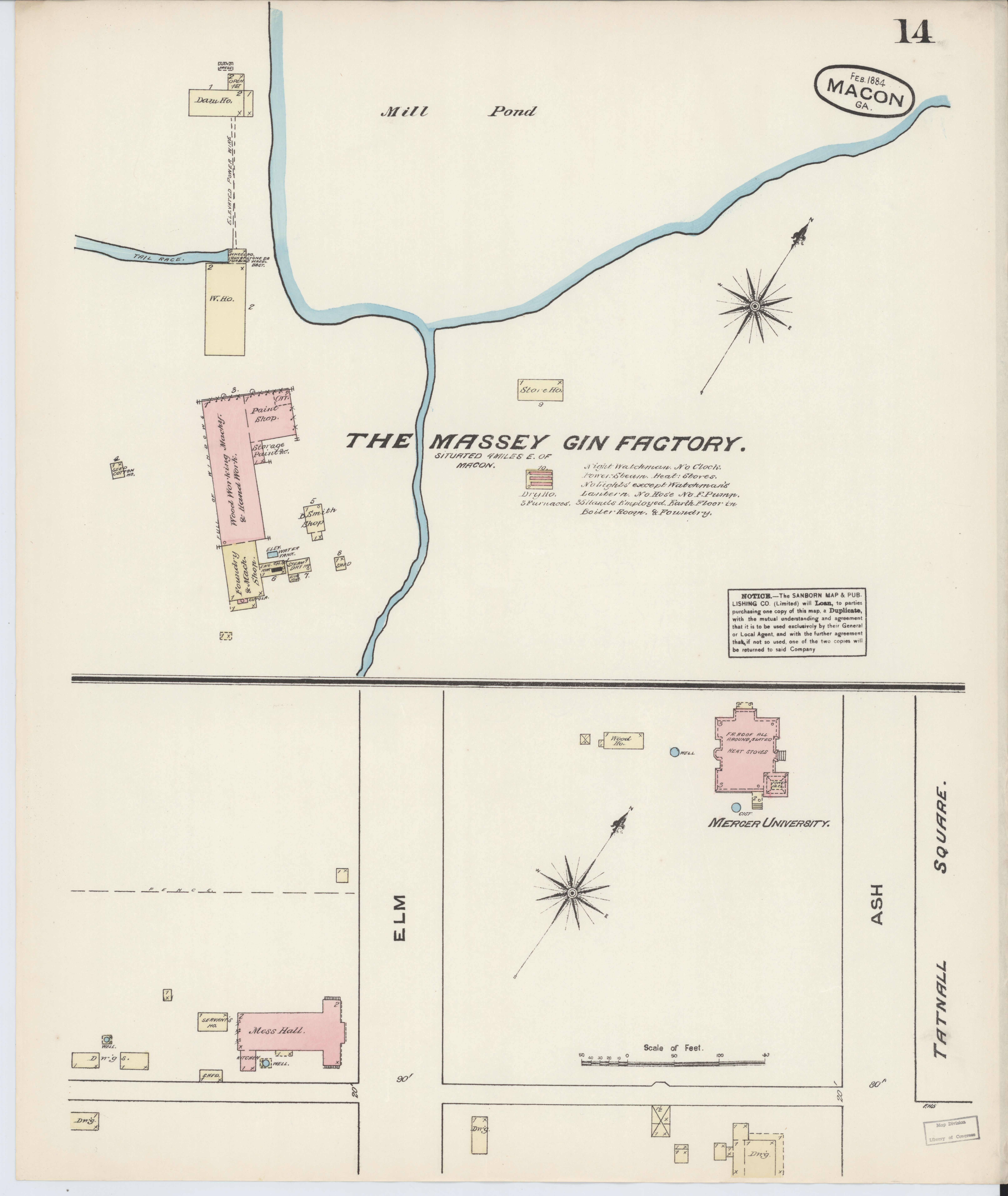 Map Of Georgia Fire.File Sanborn Fire Insurance Map From Macon Bibb And Jones County