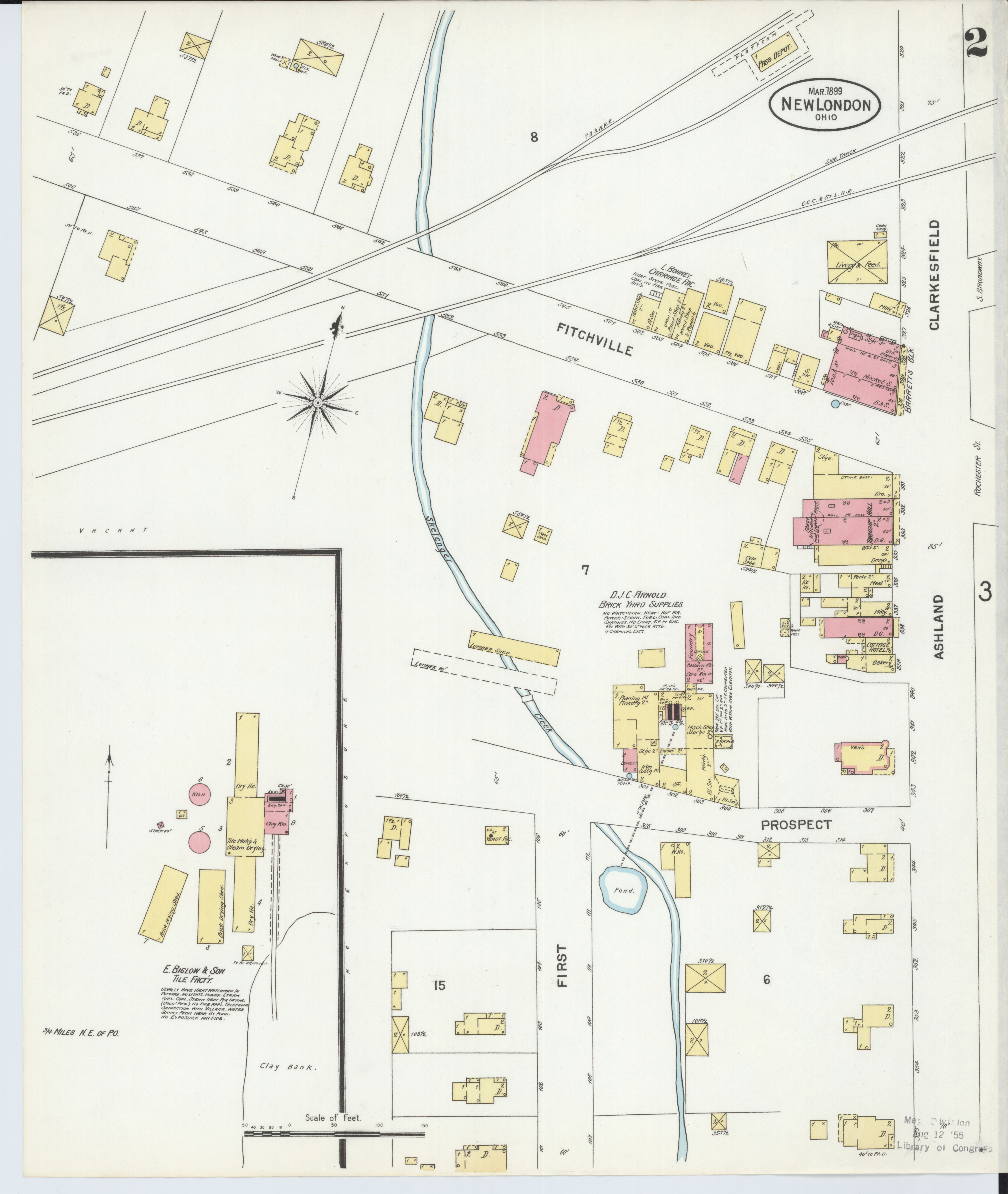 New London Ohio Map.File Sanborn Fire Insurance Map From New London Huron County Ohio